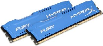 Memorie HyperX Fury Blue 16GB Kit 2x8GB DDR3 1600 MHz