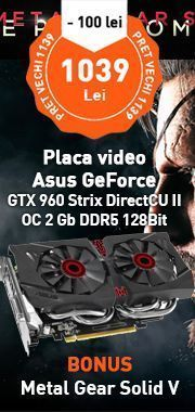 Placa video Asus GeForce GTX 960