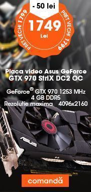 Placa video Asus GeForce GTX 970 StriX DC2 OC