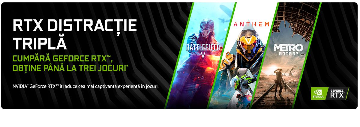 Bundle Nvidia Battlefield V & Anthem